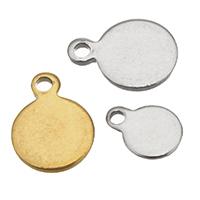 Edelstahl -Ergänzung-Kette Tropfen, flache Runde, plattiert, verschiedene Größen vorhanden, keine, 400PCs/Tasche, verkauft von Tasche