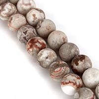 Natürliche verrückte Achat Perlen, Verrückter Achat, rund, verschiedene Größen vorhanden, Länge:ca. 15.5 ZollInch, verkauft von Menge