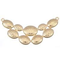 Mode Halskette unten, Zinklegierung, KC goldfarben plattiert, frei von Blei & Kadmium, 100x50x5mm, Bohrung:ca. 3mm, verkauft von PC