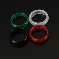 Achat Fingerring, verschiedenen Materialien für die Wahl & verschiedene Größen vorhanden & facettierte, verkauft von PC