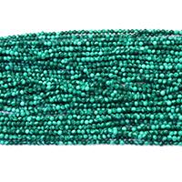Malachit Perle, rund, natürlich, verschiedene Größen vorhanden, Bohrung:ca. 0.5mm, Länge:ca. 16 ZollInch, verkauft von Menge