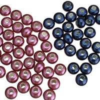 Südsee Muschel European Perlen, Rondell, ohne troll, keine, 9x10mm, Bohrung:ca. 5mm, 10PCs/Tasche, verkauft von Tasche