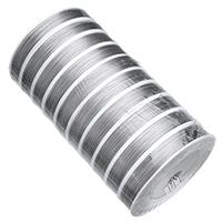 Stahldraht, mit Kunststoffspule, 7 Garn & verschiedene Größen vorhanden, 10PCs/Tasche, ca. 100m/PC, verkauft von Tasche