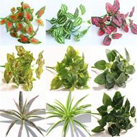 Kunststoff Künstliche Pflanze, gemischt, 32cm, 10PCs/Tasche, verkauft von Tasche