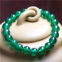 Grüner Chalcedon Armband, natürlich, unisex & verschiedene Größen vorhanden, verkauft per ca. 7.5 ZollInch Strang