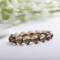 Rauchquarz Armband, rund, synthetisch, 14mm, verkauft per ca. 7 ZollInch Strang