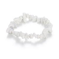 comeon® Schmuck Armband, natürliche Marmor, natürlich, für Frau, verkauft per ca. 6.2 ZollInch Strang