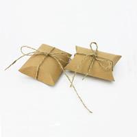 Schmuck Geschenkkarton, Kraftpapier, 90x65x25mm, 100PCs/Tasche, verkauft von Tasche