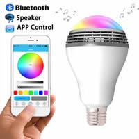 Glas Bluetooth Glühbirne, Mehr als IOS8 und oben Android System Version 4 kann verwendet werden., 80x140mm, verkauft von PC