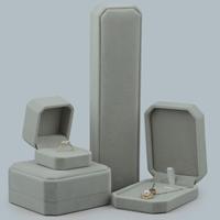 Baumwollsamt Schmuckset Kasten, Achteck, verschiedene Stile für Wahl, keine, verkauft von PC