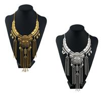 Mode-Fringe-Halskette, Zinklegierung, mit Verlängerungskettchen von 1.95 lnch, plattiert, Twist oval & für Frau, keine, frei von Nickel, Blei & Kadmium, 200mm, verkauft per ca. 17.7 ZollInch Strang