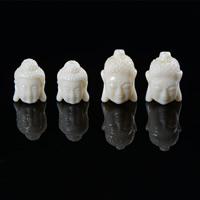 Buddhistische Perlen, Harz, Buddha, buddhistischer Schmuck & verschiedene Größen vorhanden & Volltonfarbe, 10PCs/Tasche, verkauft von Tasche