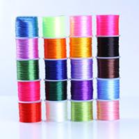 Kristall Faden, mit Kunststoffspule, elastisch, keine, 0.7mm, 2PCs/Tasche, 50m/PC, verkauft von Tasche