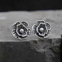 Thailand Ohrstecker, Rose, für Frau, 14mm, verkauft von Paar