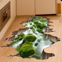 PVC Kunststoff Boden Aufkleber, Klebstoff & 3D, frei von Nickel, Blei & Kadmium, 500x700mm, verkauft von PC