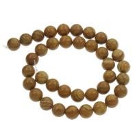 Grain Stein Perle, rund, verschiedene Größen vorhanden, Bohrung:ca. 1mm, verkauft per ca. 15 ZollInch Strang
