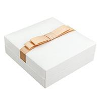 Baumwollsamt Armbandkasten, PU Leder, mit Satinband & Baumwollsamt, Rechteck, 89x91x34mm, 24PCs/Tasche, verkauft von Tasche