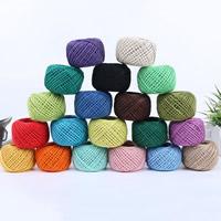 Hanf & amp; Hemptique Cord, Hanfgarn, Trommel, gewebt, keine, 2mm, 10PCs/Tasche, 50m/PC, verkauft von Tasche