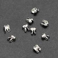 Eisen Perlenkappe, plattiert, verschiedene Größen vorhanden, keine, frei von Blei & Kadmium, 10000PCs/Tasche, verkauft von Tasche