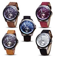 Segeltuch Armbanduhr, mit Zinklegierung Zifferblatt & Glas & Edelstahl, plattiert, einstellbar & für den Menschen, keine, frei von Nickel, Blei & Kadmium, 48x12.5mm, 22mm, Länge:ca. 10.2 ZollInch, verkauft von PC