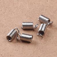 Eisen Endkappe, Platinfarbe platiniert, verschiedene Größen vorhanden, frei von Blei & Kadmium, 2000PCs/Tasche, verkauft von Tasche