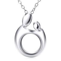 Sterling Silber Halsketten, 925 Sterling Silber, Oval-Kette & für Frau, 12.3x18mm, 0.8mm, verkauft per ca. 18 ZollInch Strang
