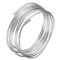 Drahtspule, Aluminium, frei von Nickel, Blei & Kadmium, 3mm, 3m/PC, verkauft von PC
