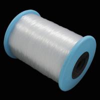 Kristall Faden, mit Kunststoffspule, verschiedene Größen vorhanden, klar, verkauft von Spule