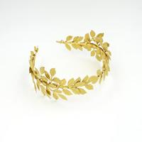 Zinklegierung Haarband, goldfarben plattiert, für Braut, frei von Blei & Kadmium, 80-100mm, verkauft von PC