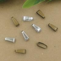 Messing Anhängeröse, plattiert, keine, frei von Nickel, Blei & Kadmium, 11x5mm, 200PCs/Tasche, verkauft von Tasche