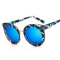 Art- und WeiseSonnenbrillen , PC Kunststoff, mit PC Kunststofflinse & Zinklegierung, KC goldfarben plattiert, unisex, keine, 142x59x147mm, verkauft von PC
