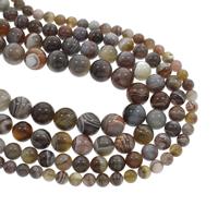 Natürliche Botswana Achat Perlen, rund, verschiedene Größen vorhanden, Bohrung:ca. 1mm, verkauft per ca. 15.5 ZollInch Strang