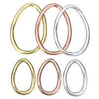 Zinklegierung Verbindungsring, plattiert, verschiedene Größen vorhanden, keine, frei von Nickel, Blei & Kadmium, 30PCs/Menge, verkauft von Menge