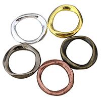 Zinklegierung Verbindungsring, plattiert, keine, frei von Nickel, Blei & Kadmium, 18.50x20x2.50mm, Innendurchmesser:ca. 13x14mm, 100PCs/Menge, verkauft von Menge