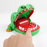 Kunststoff Krokodil, 150x110x90mm, verkauft von PC