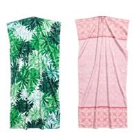 Mode Bad Strandtuch, Baumwolle, Rechteck, verschiedene Muster für Wahl, 140x70cm, verkauft von PC