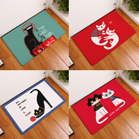 Teppich, Polyester, Rechteck, Kunstdruck, verschiedene Muster für Wahl, 400x600x8mm, verkauft von PC