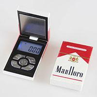 Digitale Taschenwaage , Edelstahl, mit Kunststoff, Rechteck, verschiedene Größen vorhanden, 72x45x18mm, verkauft von PC