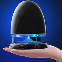 Bluetooth Lautsprecher, Kunststoff, Kugel, LED, keine, 100x130mm, verkauft von PC