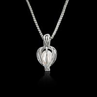 Plastik-Perlenkette, Zinklegierung, mit ABS-Kunststoff-Perlen & Eisenkette, mit Verlängerungskettchen von 5cm, Platinfarbe platiniert, Kastenkette & für Frau, frei von Blei & Kadmium, 21x10mm, verkauft per ca. 16.5 ZollInch Strang