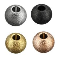 Edelstahl-Beads, Edelstahl, Trommel, plattiert, keine, 3x4x4mm, Bohrung:ca. 2mm, 200PCs/Menge, verkauft von Menge