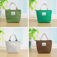 Moderne Handtasche, Segeltuch, mit Brief Muster, keine, 190x120x205mm, verkauft von PC