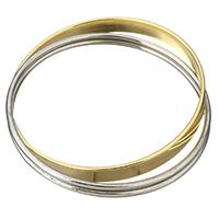 Edelstahl -Armband -Set, plattiert, für Frau & 3-Strang, 8mm,2.5mm, Innendurchmesser:ca. 68mm, verkauft von PC