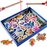 Babyspielzeug lernen, Holz, Ozean -Design & für Kinder & mit Magnet, 265x40x215mm, verkauft von setzen
