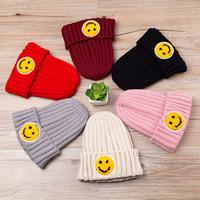 Kinderhüte, Wolle, Lächelndes Gesichte, elastisch & für Kinder, keine, 400-550mm, verkauft von PC
