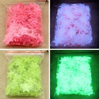Kunststoff Leuchtende Aufkleber, Stern, Klebstoff & glänzend, keine, 30mm, 100PCs/Tasche, verkauft von Tasche