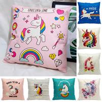 Mode Kissen, Baumwollgewebe, mit PP Baumwolle, Kunstdruck, Tier Design & verschiedene Muster für Wahl, 45x45mm, verkauft von PC