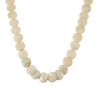 Pullover Kette Halskette, Muschel, flache Runde, für Frau, keine, 20mm, verkauft per ca. 27.5 ZollInch Strang