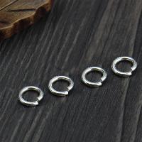 925 Sterling Silber geöffneter Biegering, 20PCs/Menge, verkauft von Menge
