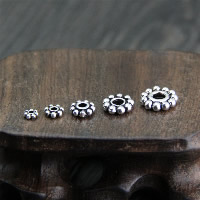 Spacer Perlen Schmuck, Thailand, verschiedene Größen vorhanden, verkauft von Menge